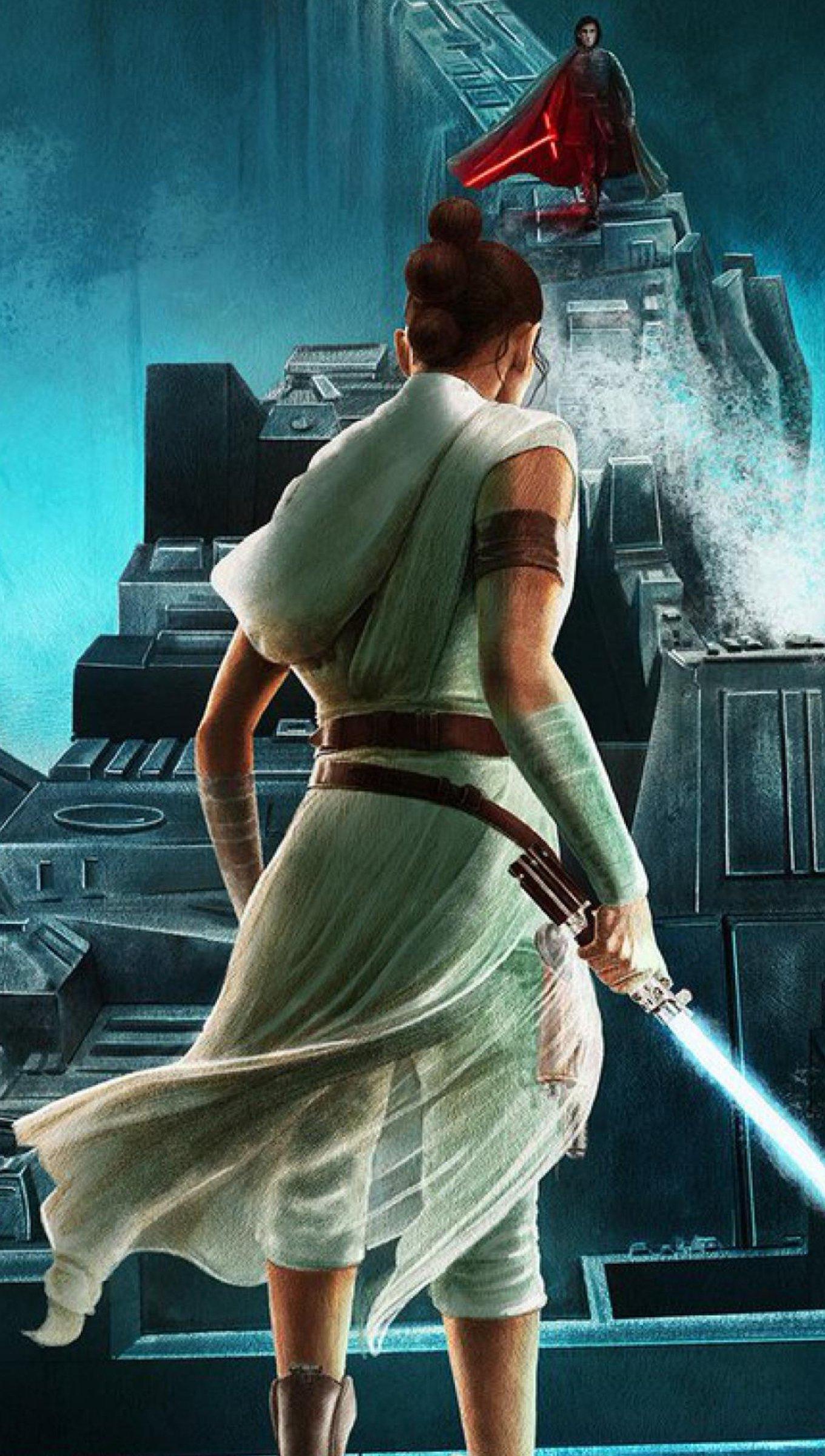 Fondos de pantalla Fanart de Rey de Star wars Vertical