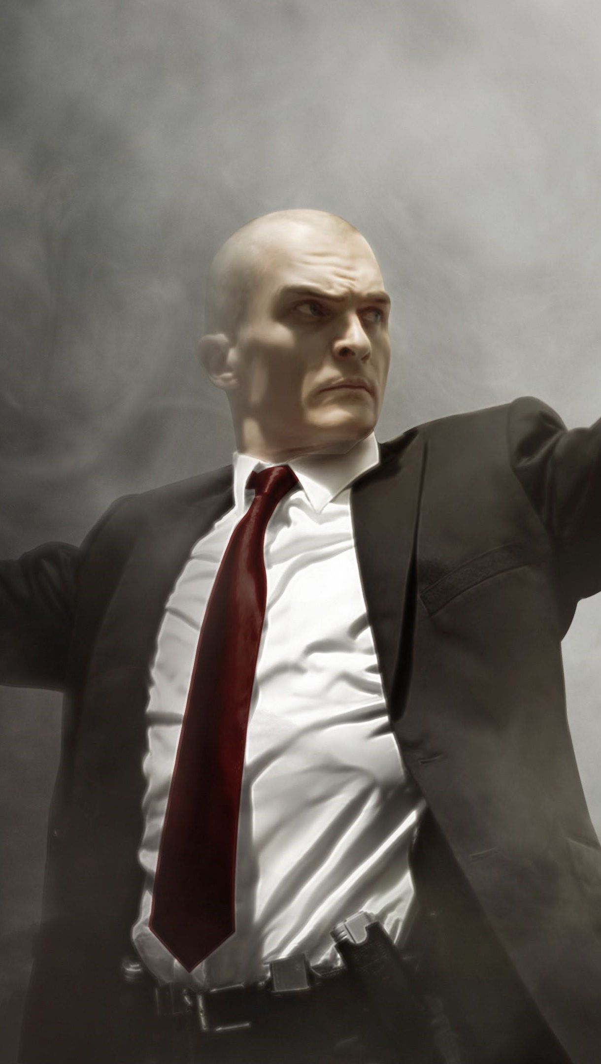 Wallpaper Fanart by Rupert Friend on Hitman Agent 47 Vertical