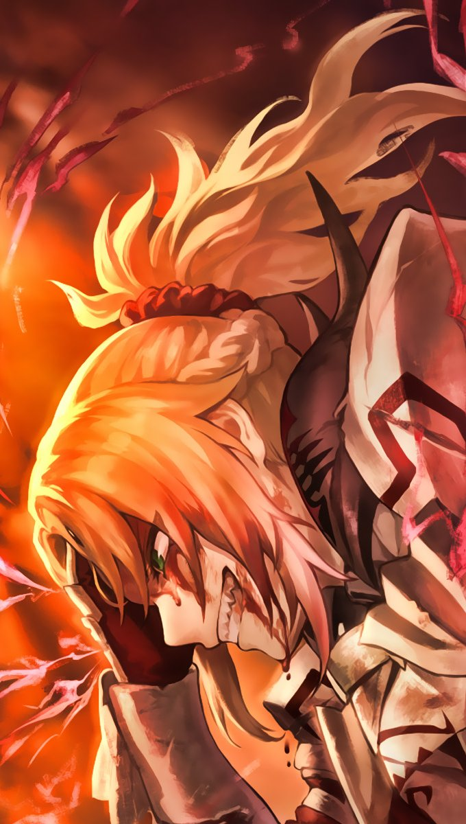 Anime Wallpaper Fate Apocrypha Vertical