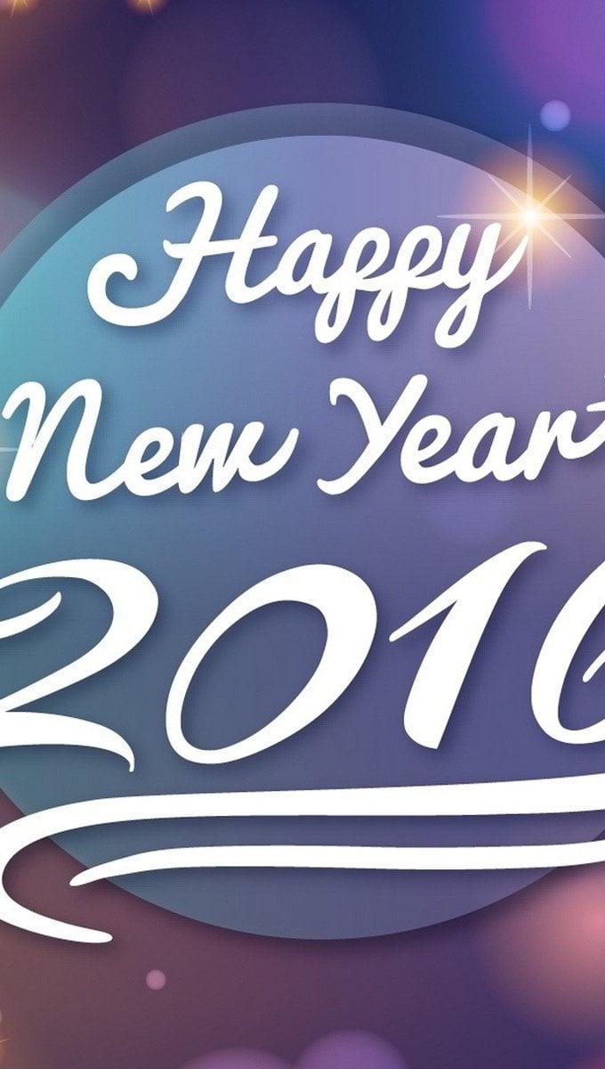 Fondos de pantalla ¡Feliz año nuevo! Vertical