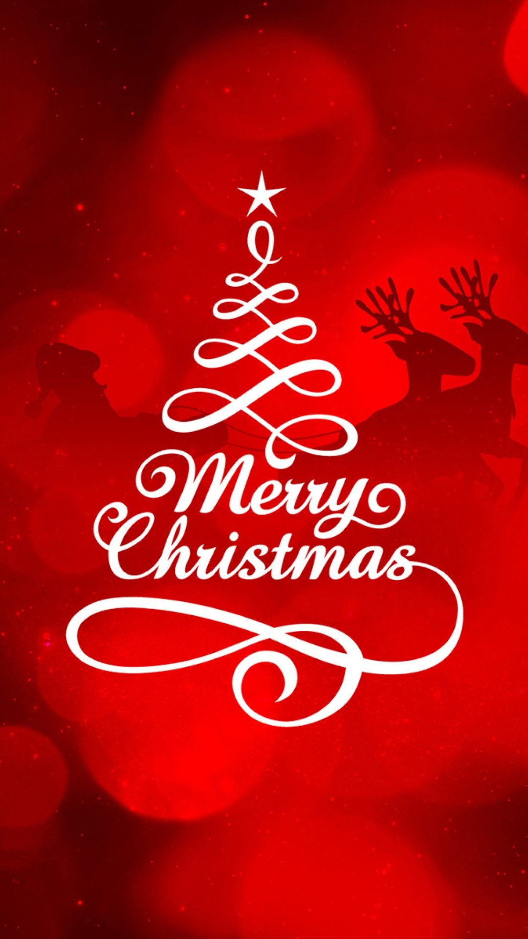Wallpaper Merry Christmas Vertical