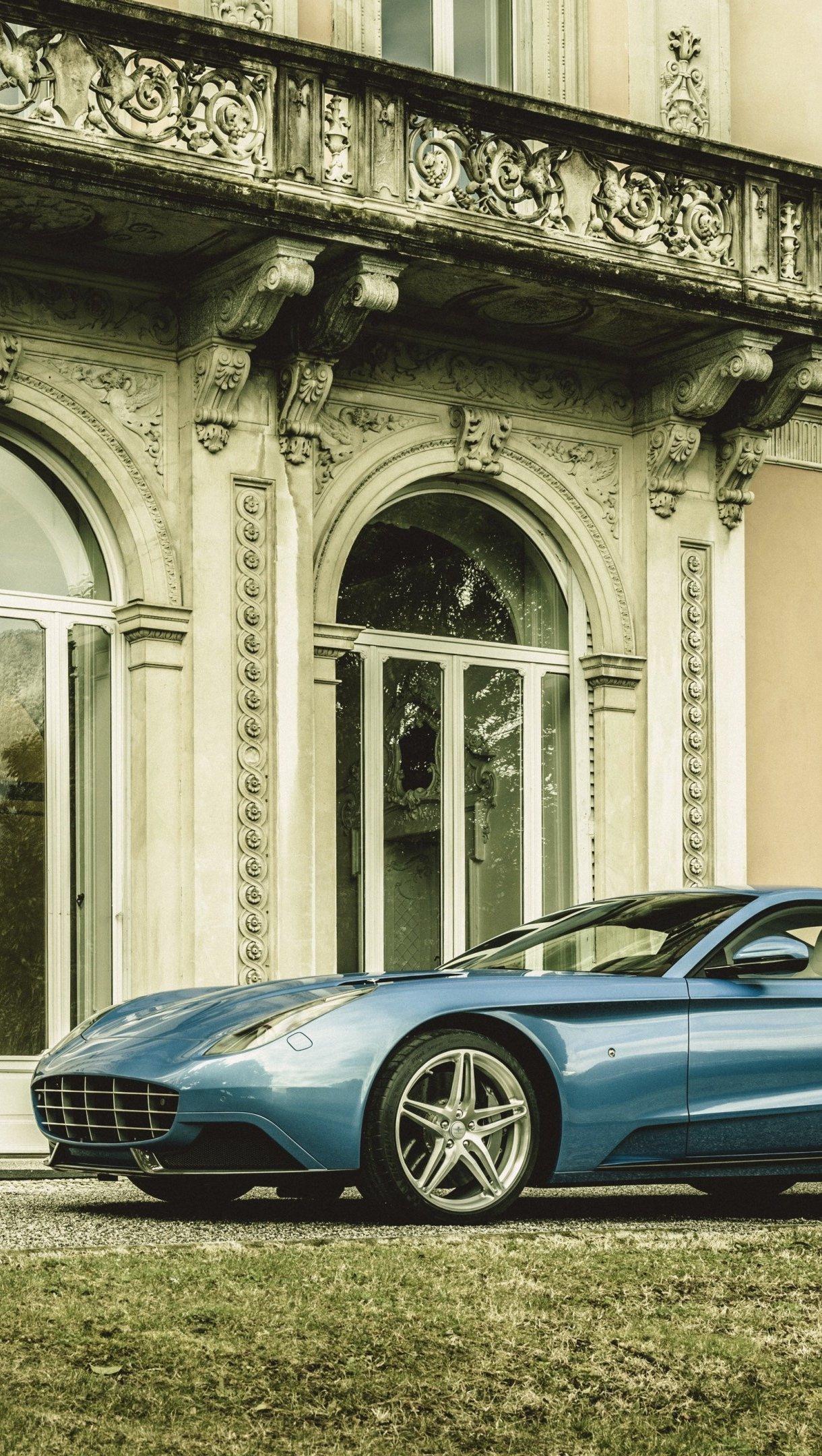 Wallpaper Ferrari 2015 Carrozzeria Touring Berlinertta Vertical