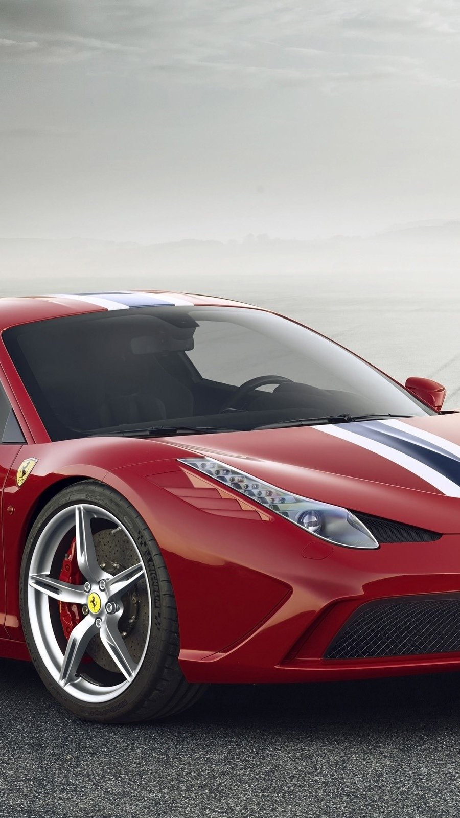 Wallpaper Ferrari 458 Speciale Vertical