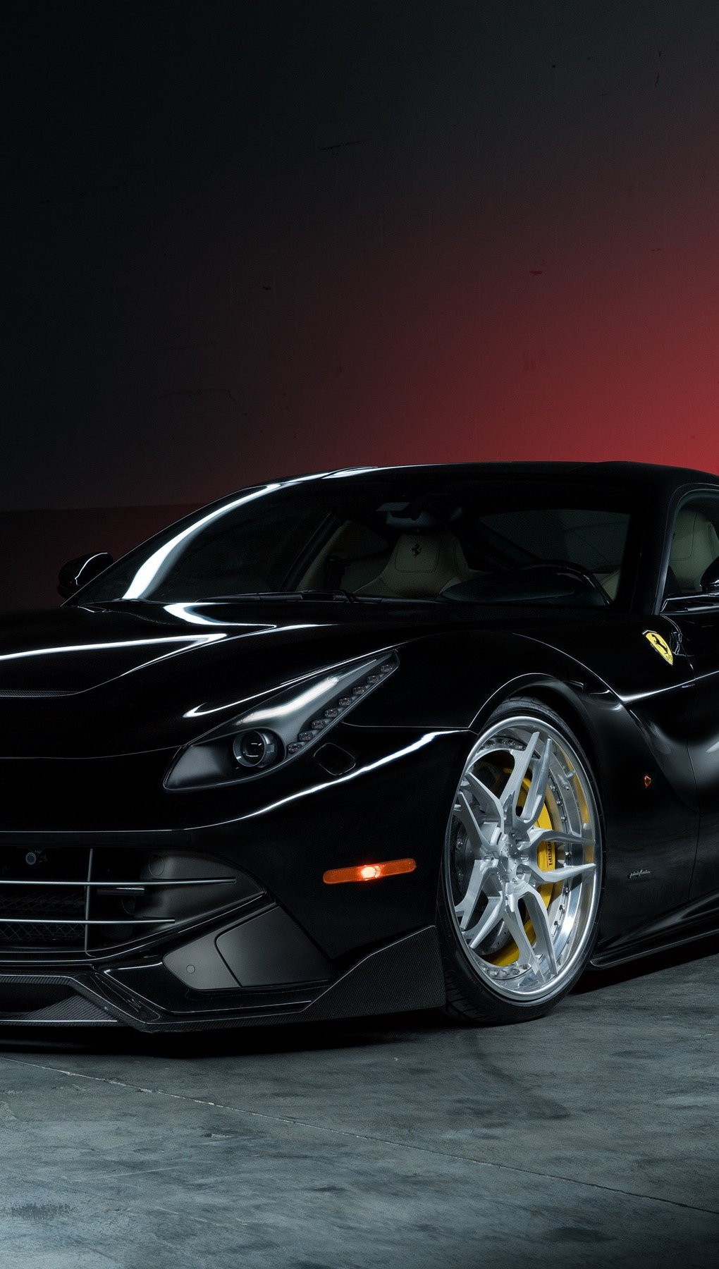 Wallpaper Ferrari F12 berlinetta Vertical