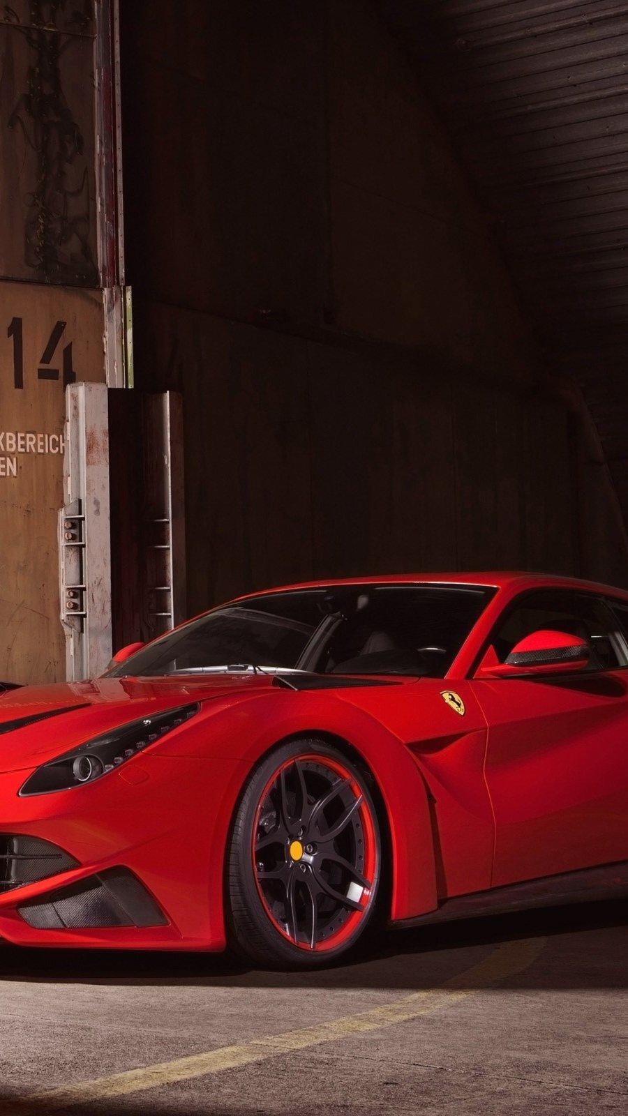 Wallpaper Ferrari F12 Berlinetta Novitec Rosso N-Largo Vertical