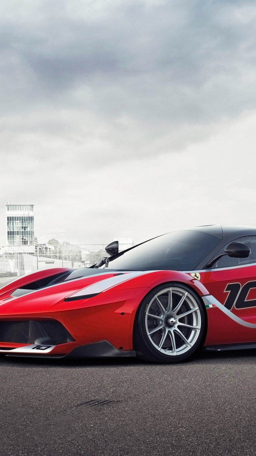 Wallpaper Ferrari FXX K Vertical