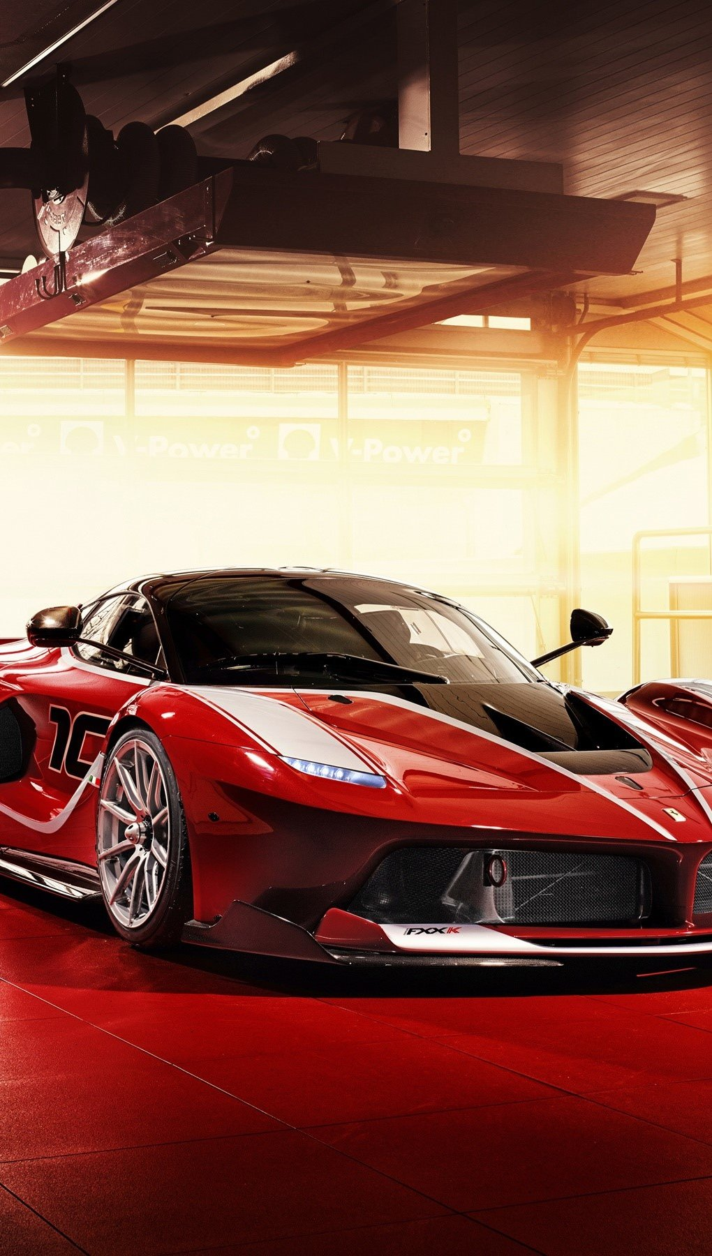 Fondos de pantalla Ferrari FXX K rojo Vertical