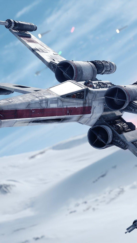 Wallpaper Star Wars Battlefront Fighter Jet Vertical