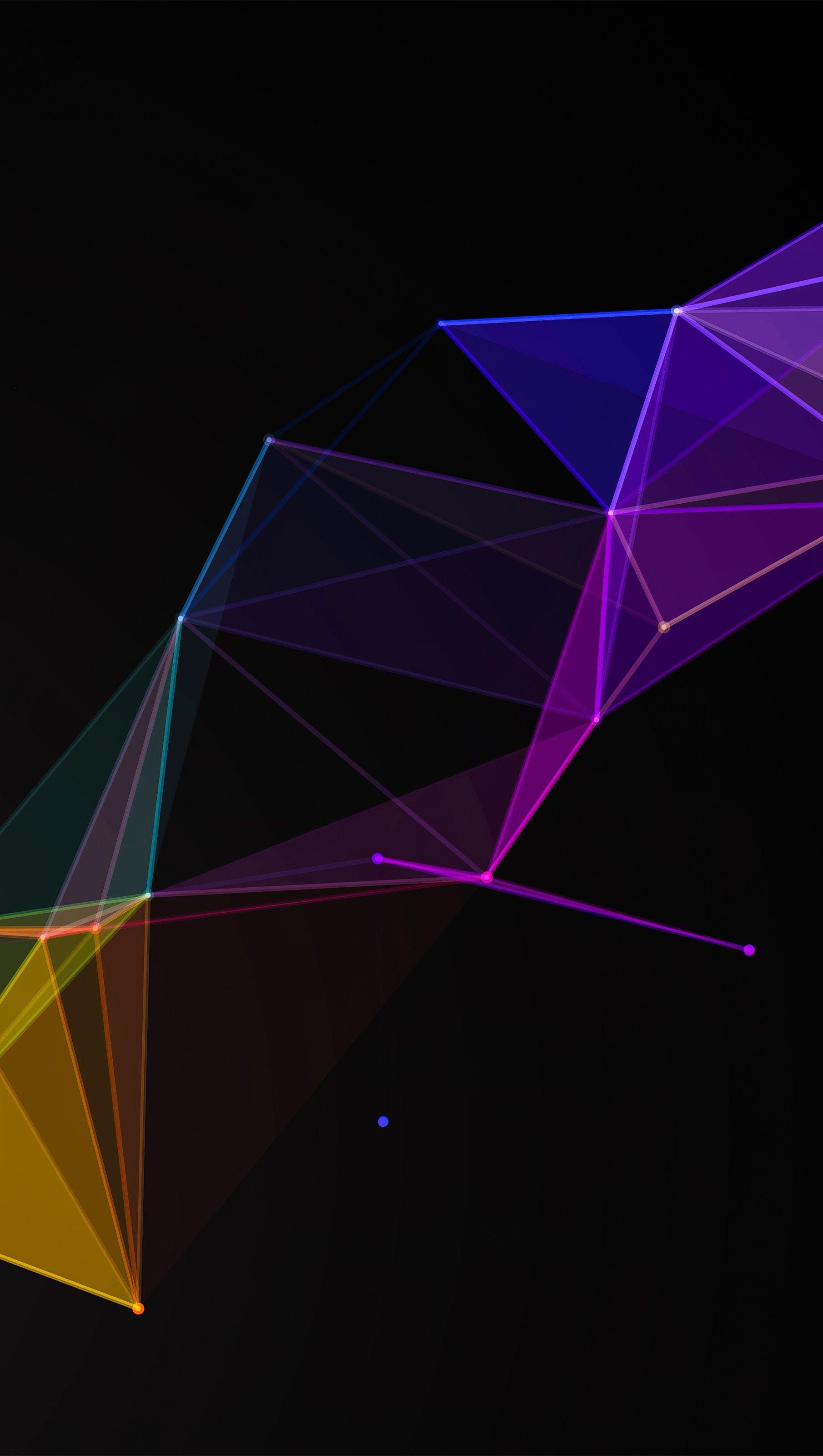 Fondos de pantalla Figuras geometricas en bucle Vertical