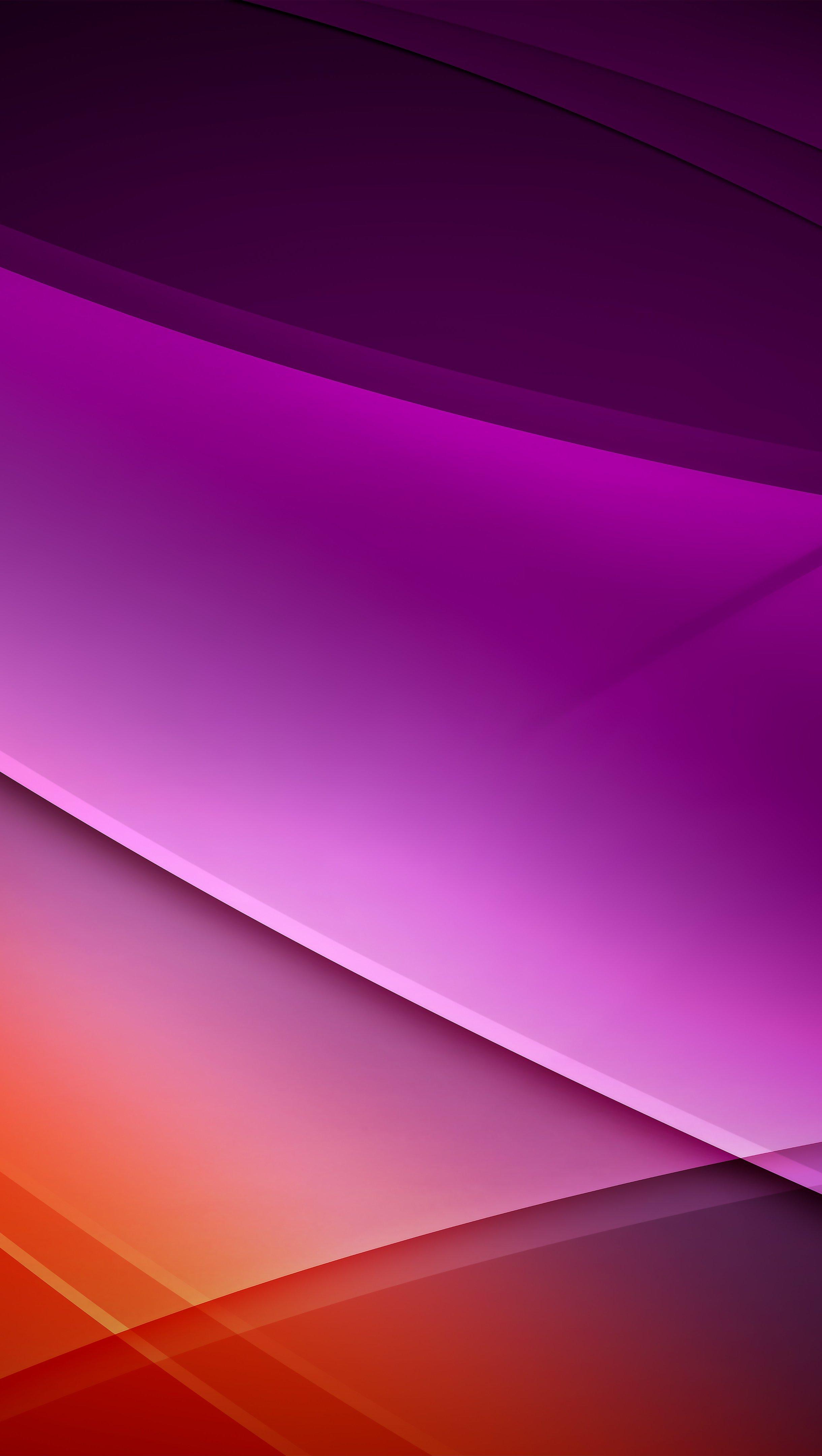 Fondos de pantalla Figuras y lineas en rojo y morado Vertical