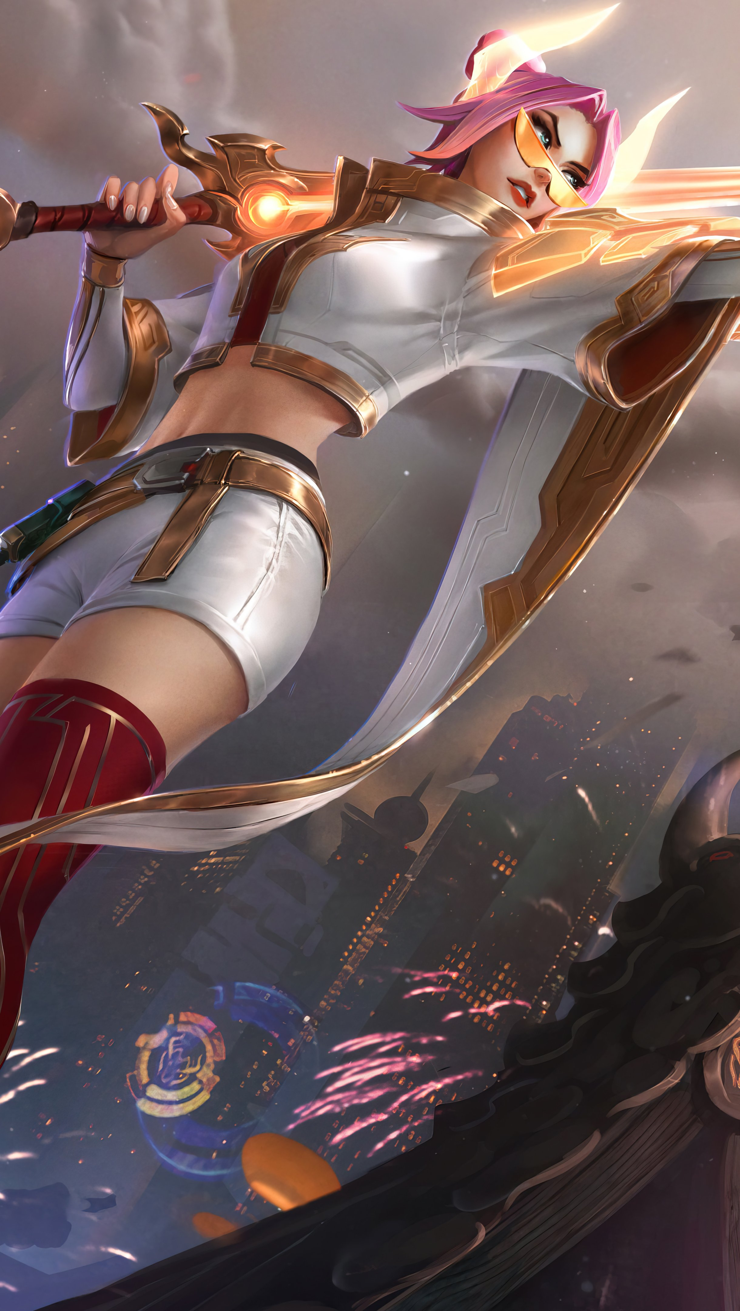 Fondos de pantalla Fiora de League of Legends Vertical