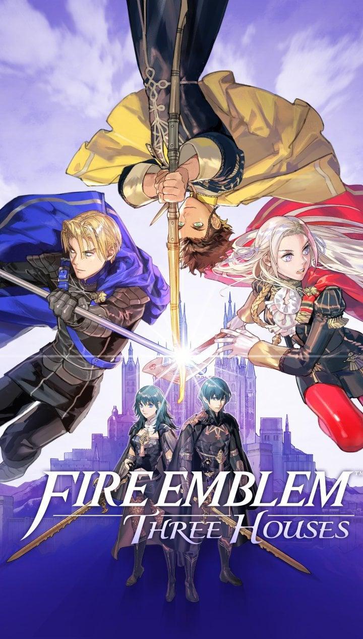 Fondos de pantalla Fire Emblem: Three Houses Poster Vertical