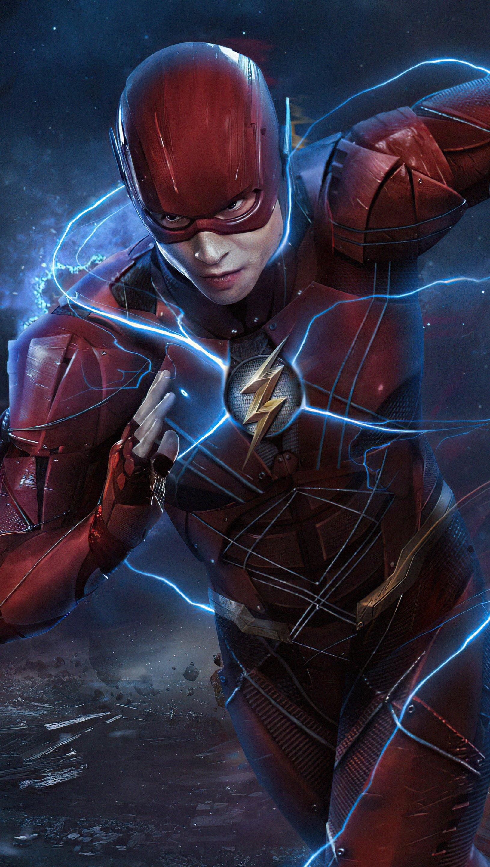 Fondos de pantalla Flash corriendo Zack Snyder Cut Vertical