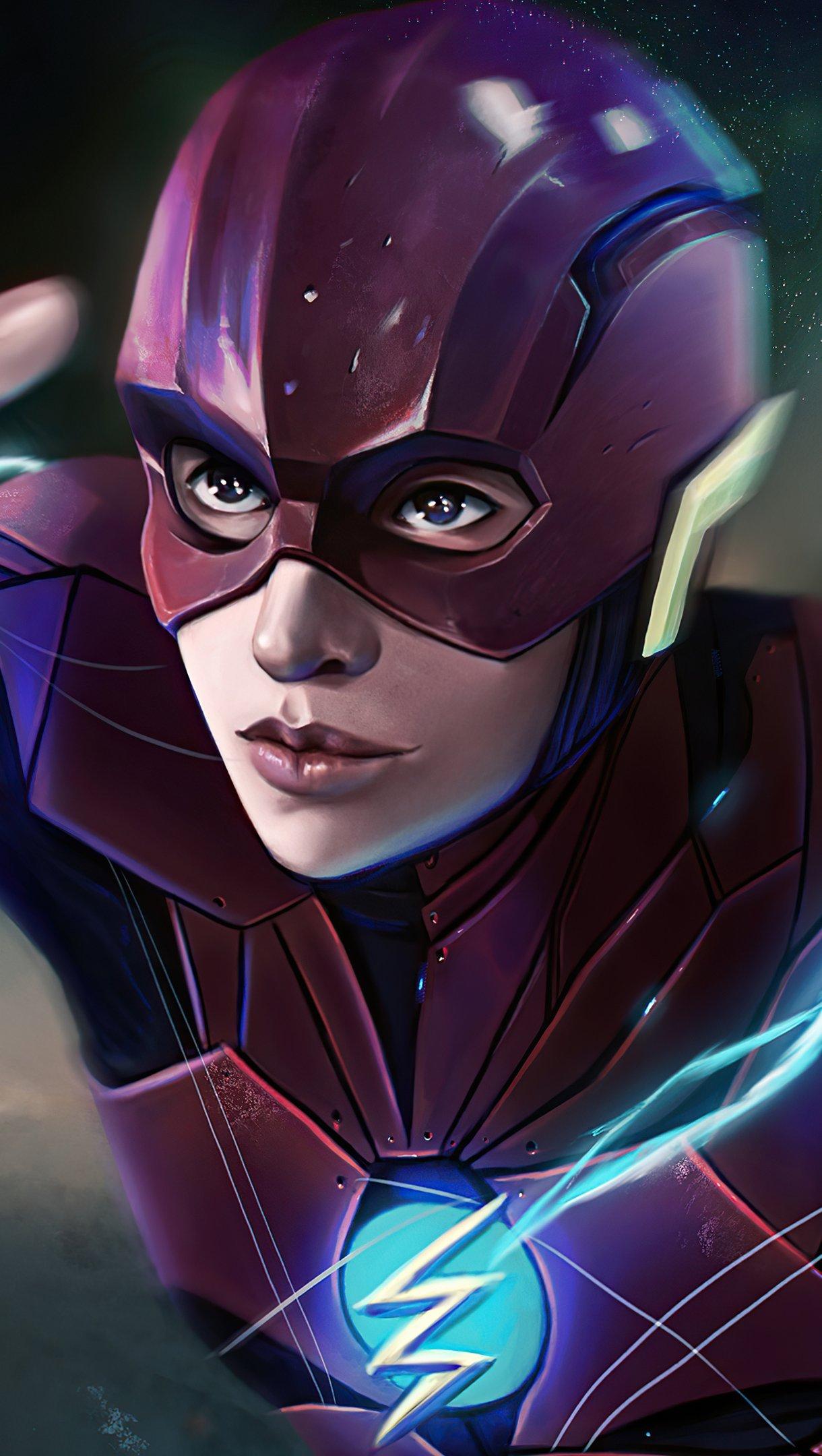 Wallpaper Flash Justice League Snydercut Fanart Vertical