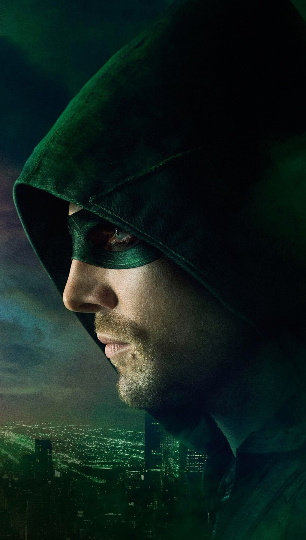 Wallpaper Flash vs Arrow Vertical