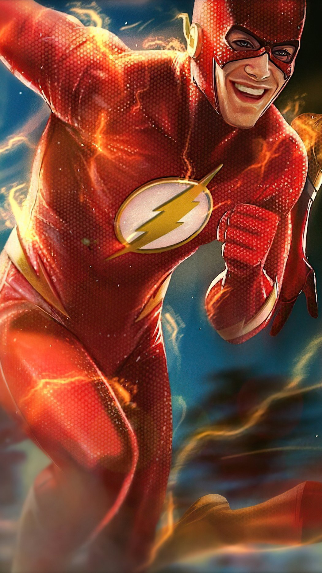 Wallpaper Flash and Kid Flash Vertical