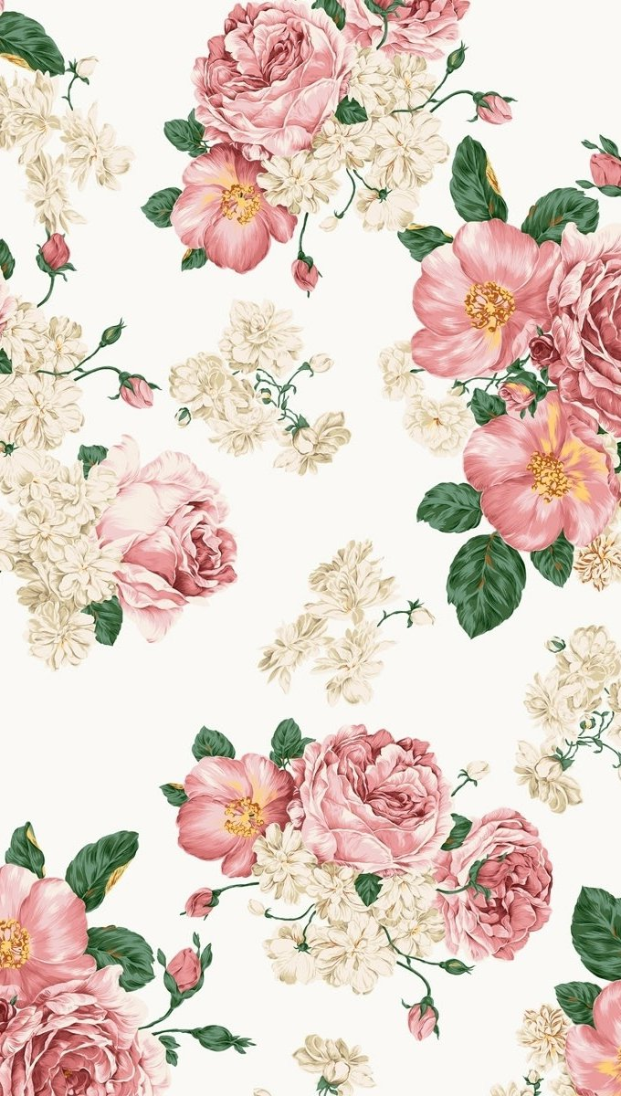 Wallpaper Flowers and roses Vertical