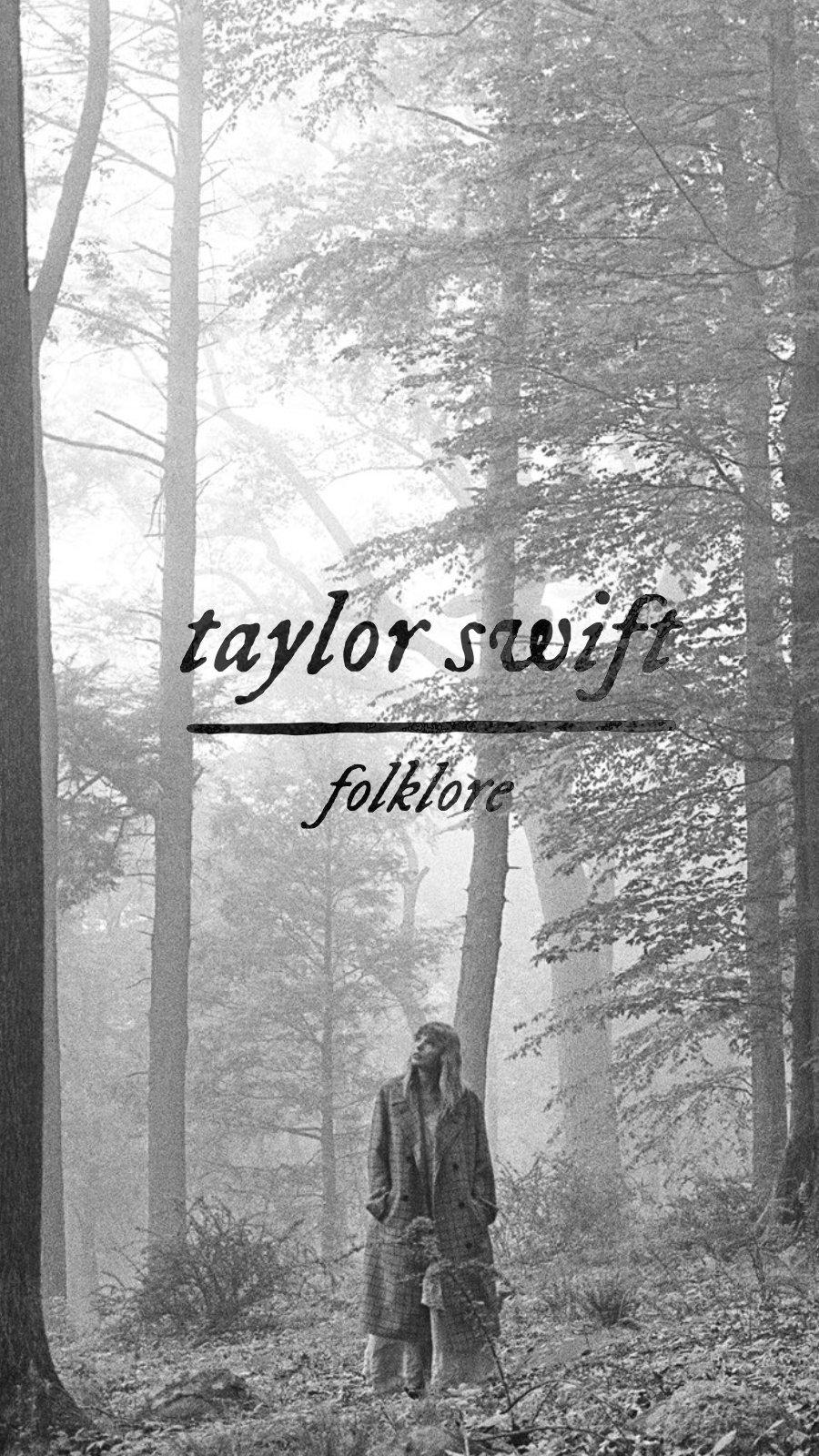 Fondos de pantalla Folklore de Taylor Swift Vertical