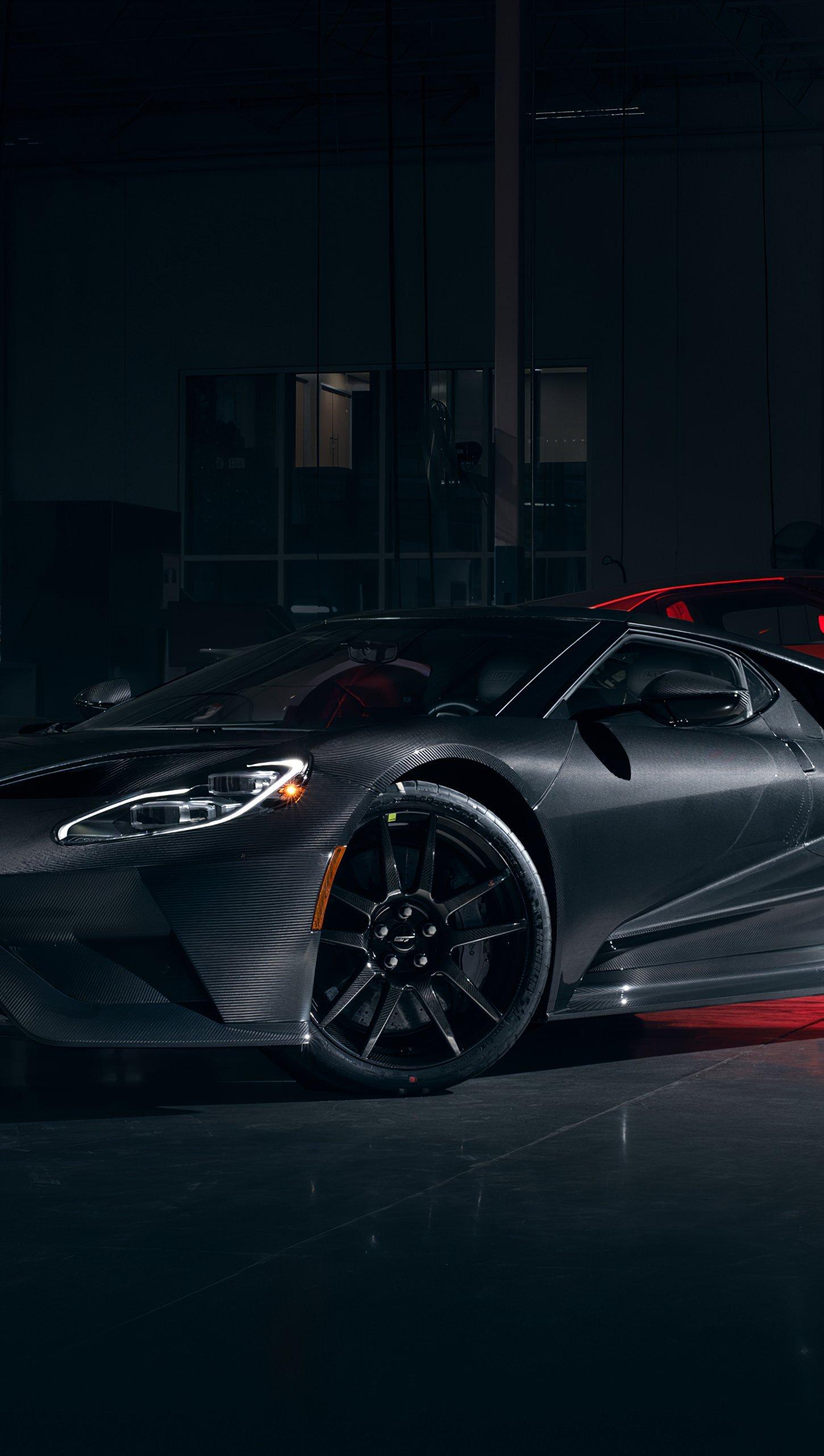 Fondos de pantalla Ford GT 2020 Vertical