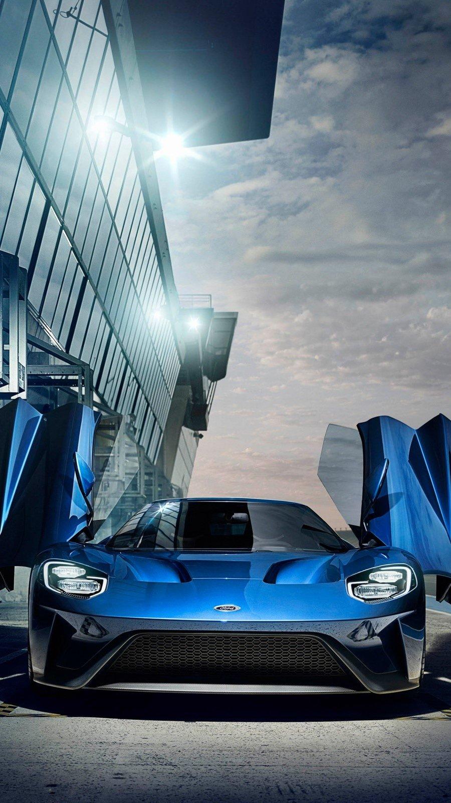 Wallpaper Ford GT Vertical