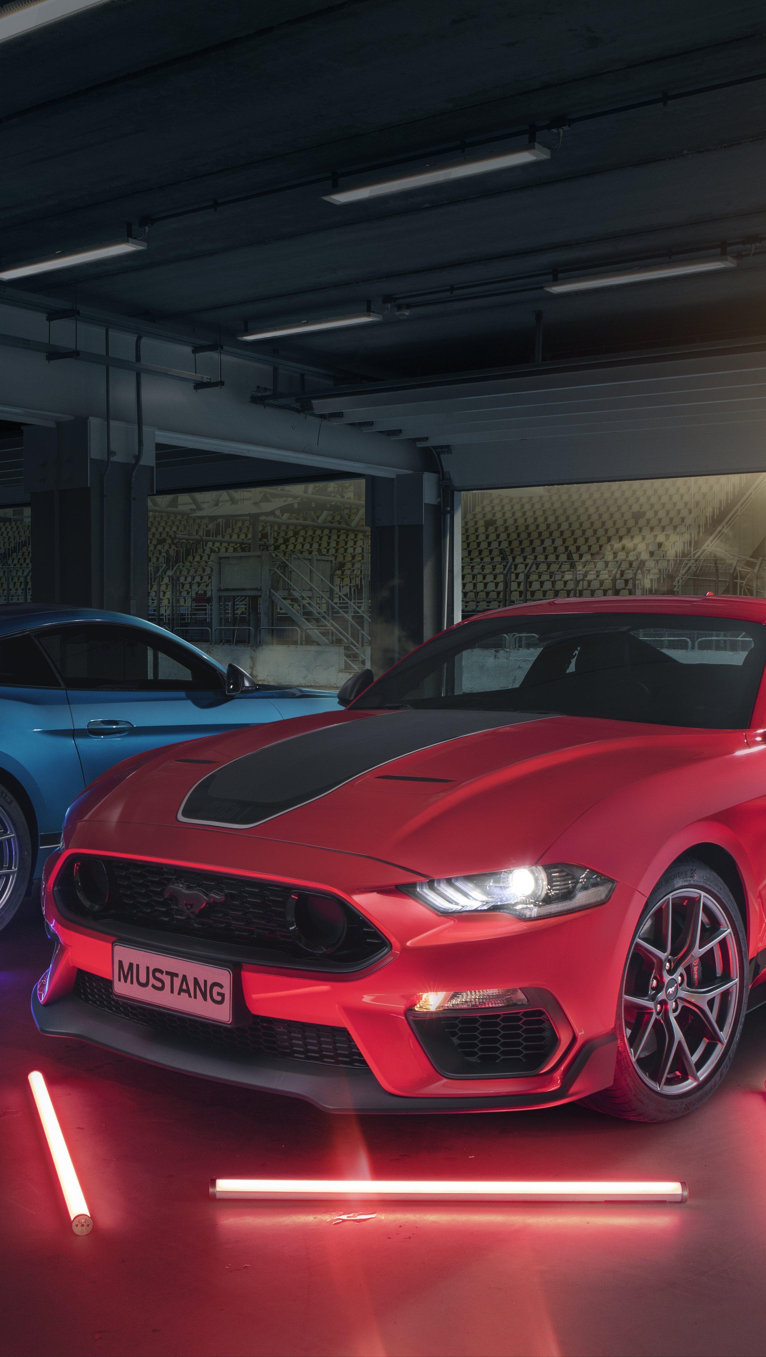 Fondos de pantalla Ford Mustang Mach 1 Vertical
