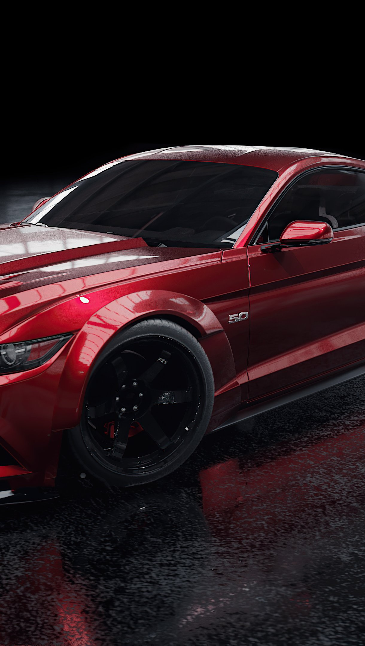 Red Ford Mustang Wallpaper 4k Ultra Hd Id 6338