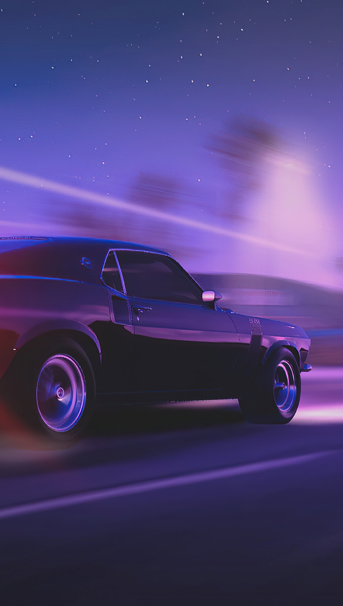 Wallpaper Ford Mustang The Crew 2 Vertical