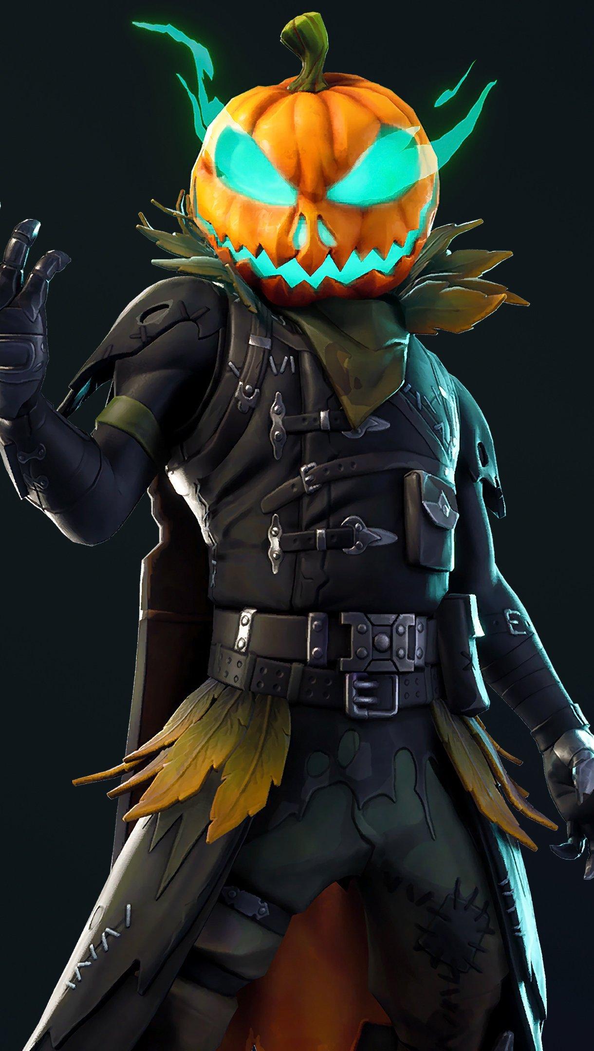 Fondos de pantalla Fortnite Battle Royale Halloween Vertical