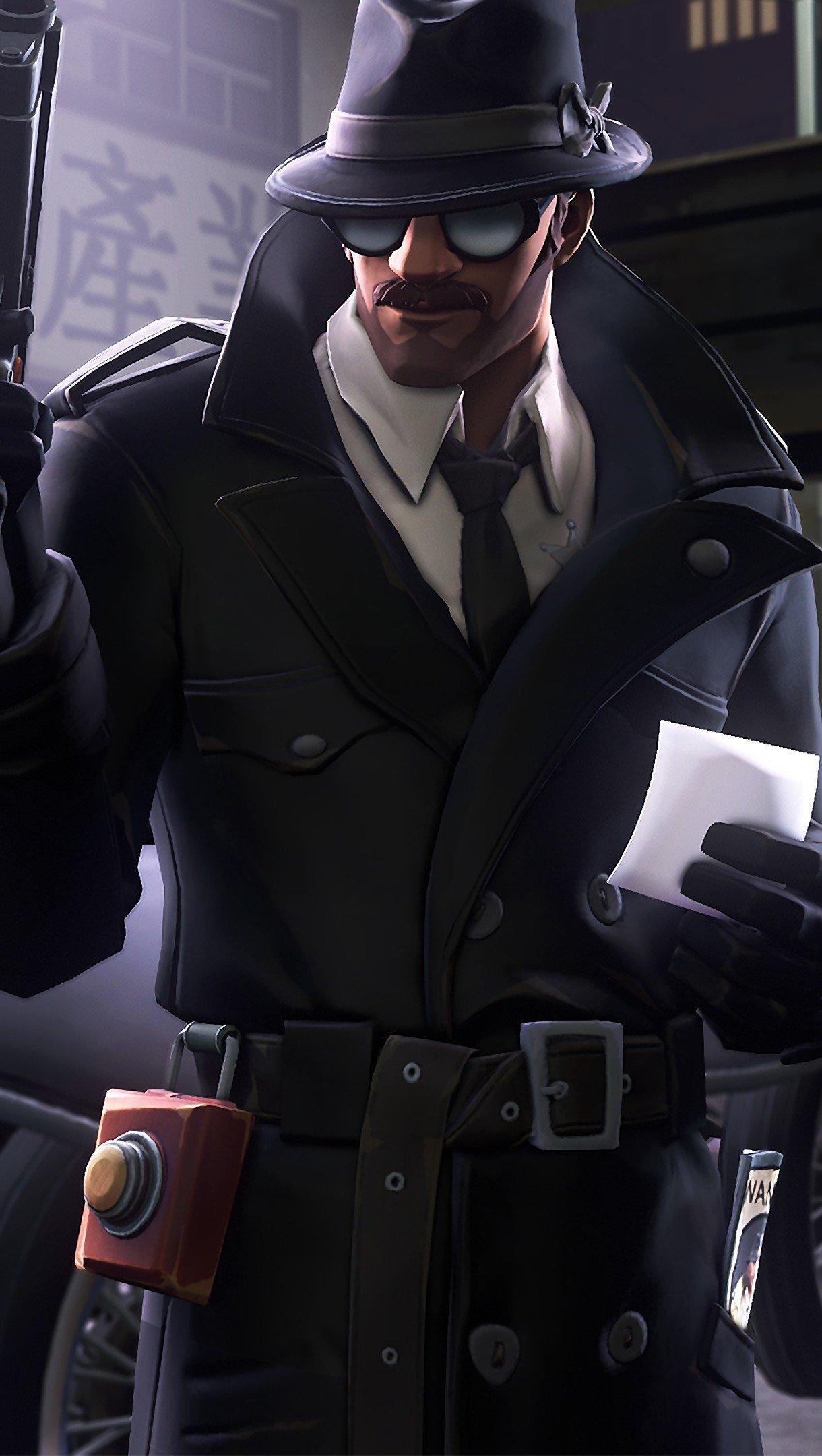 Fondos de pantalla Fortnite Detective Skins Vertical