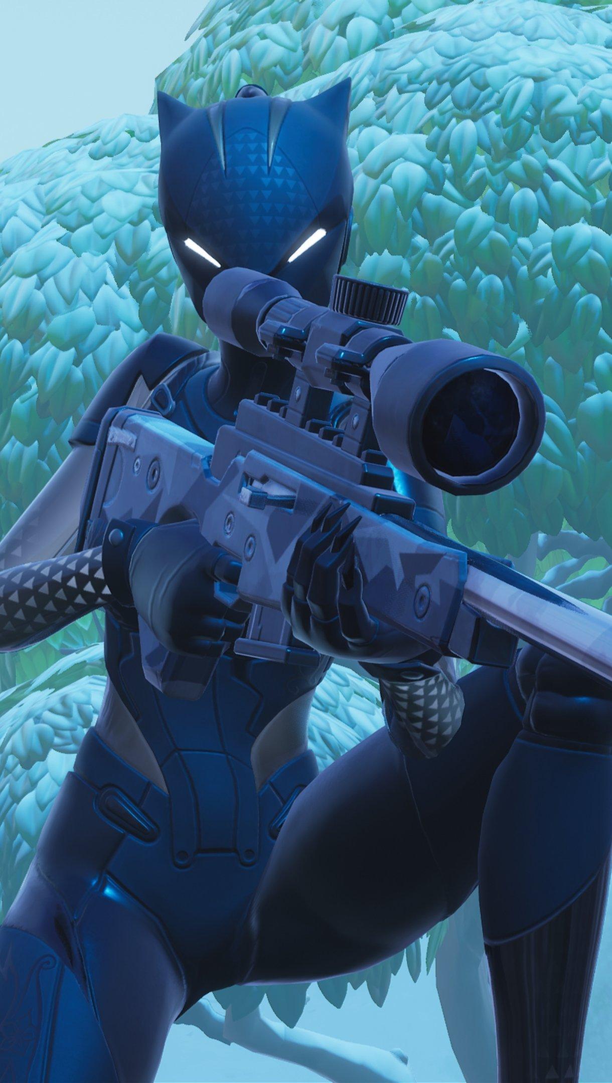 Fondos de pantalla Fortnite Lynx Black Edition Vertical