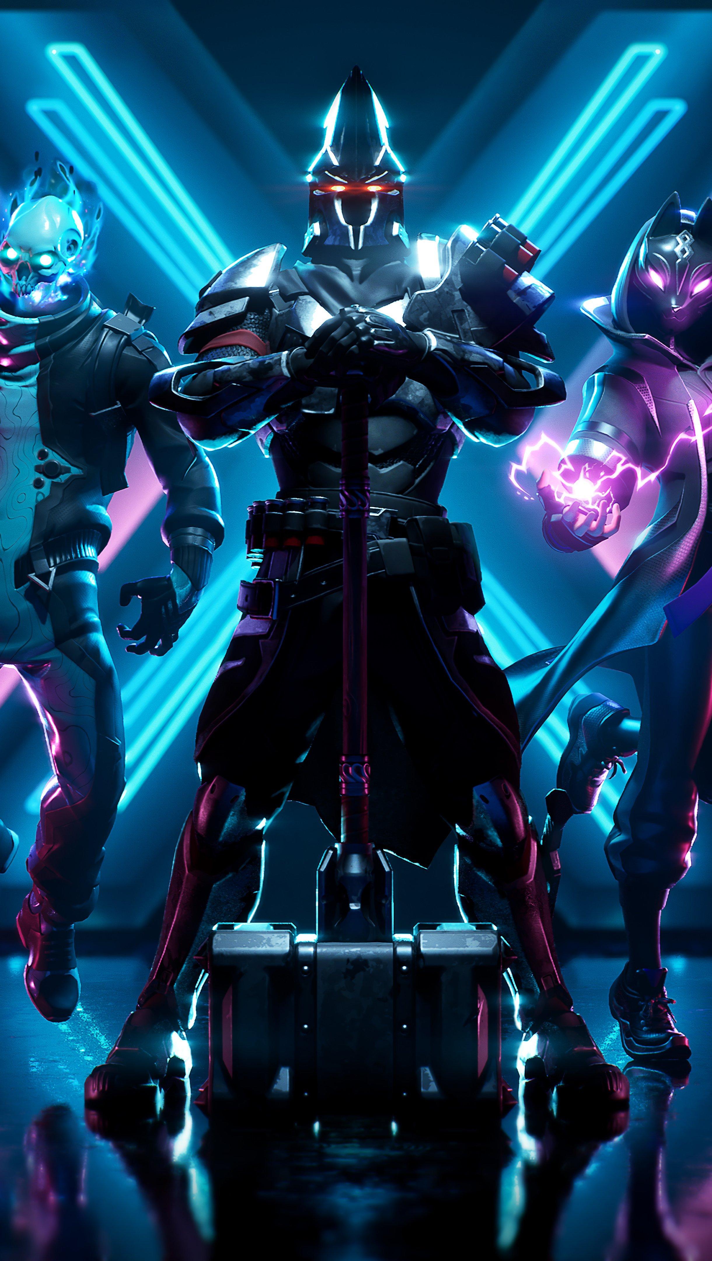 Fondos de pantalla Fortnite X Todos los trajes de Battle Pass Skins Season 10 Vertical