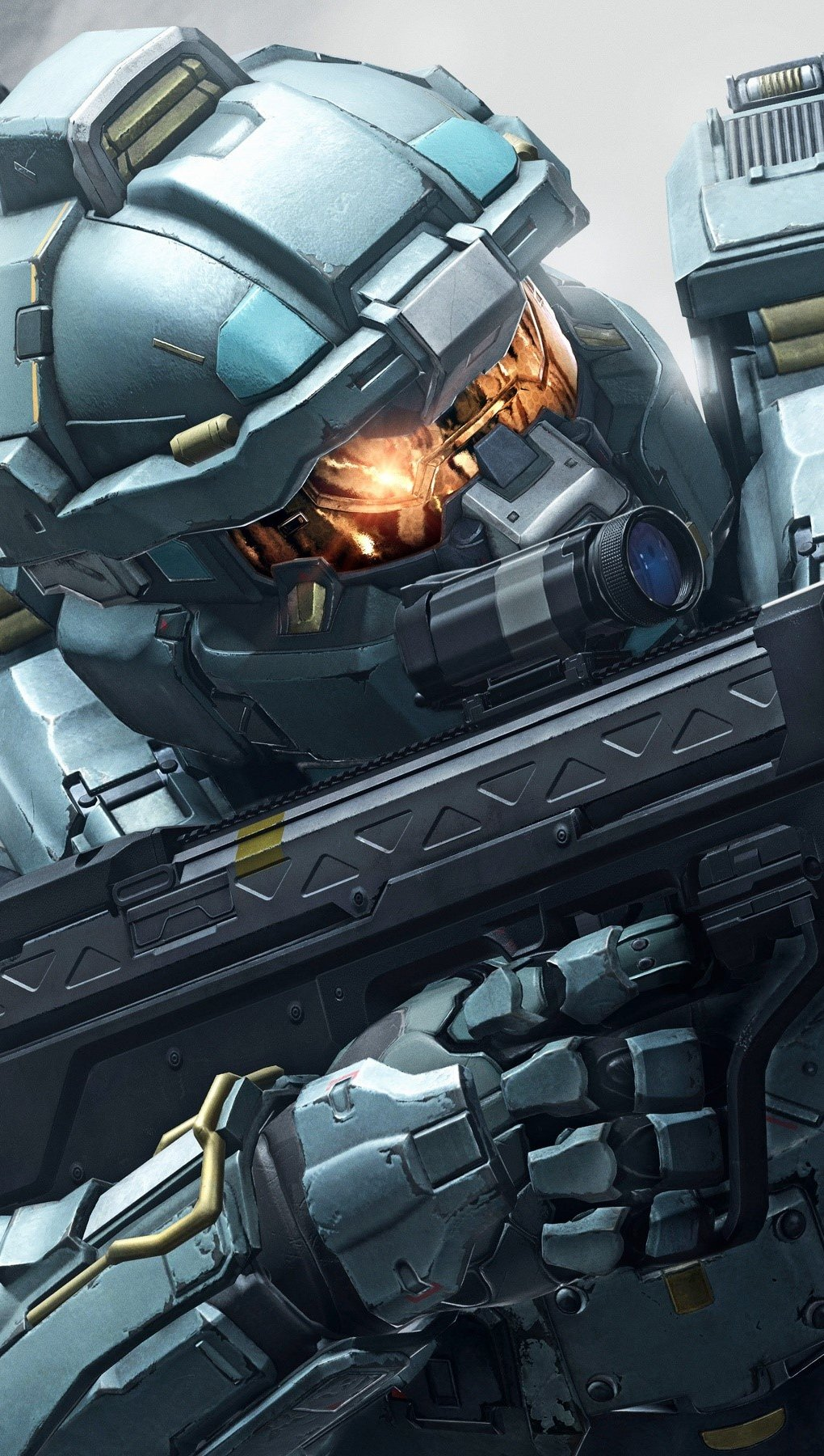 Wallpaper Fred in Halo Guardians Vertical
