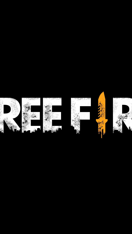 Fondos de pantalla Free Fire Logo Vertical