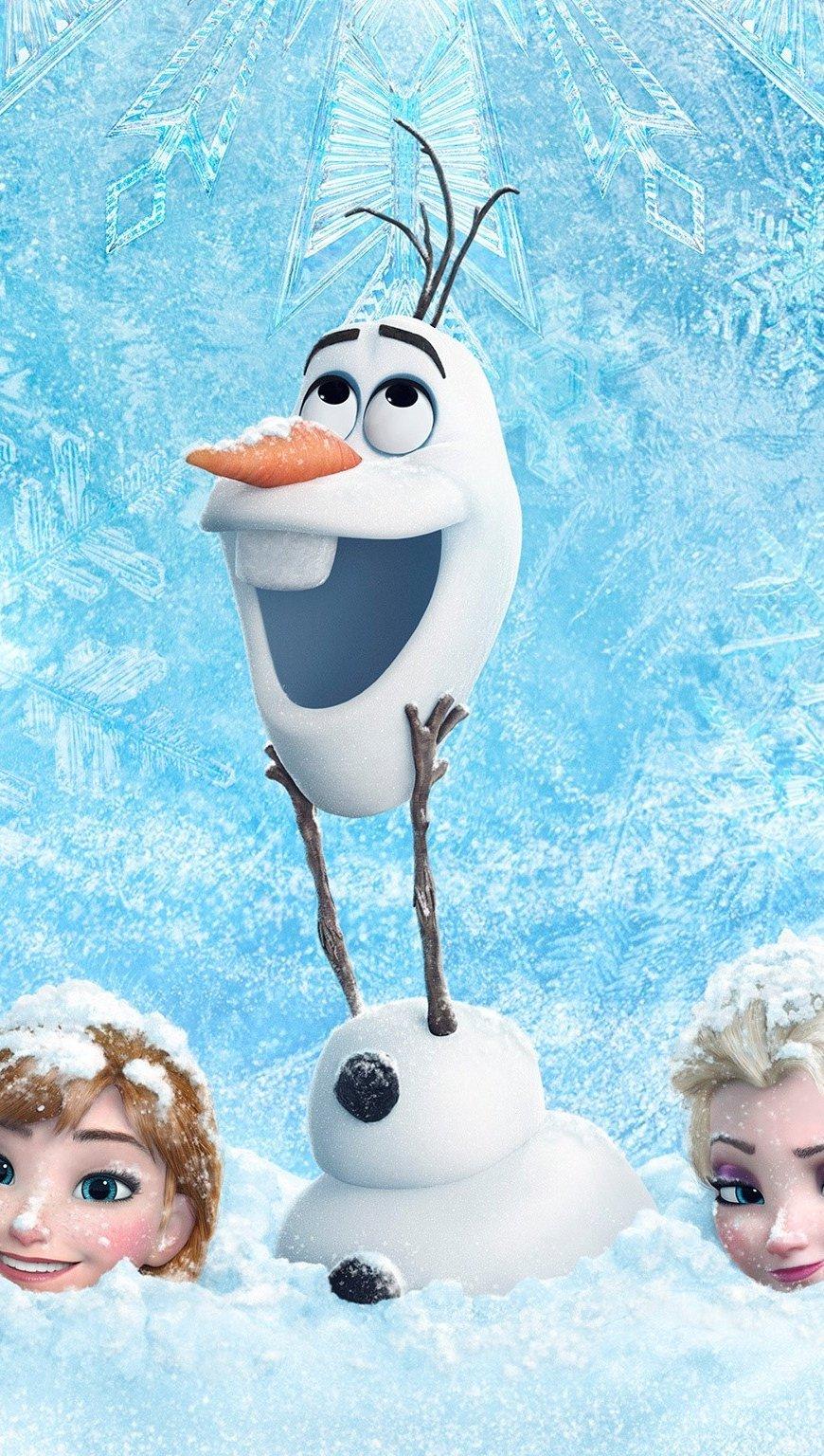 Fondos de pantalla Frozen Vertical