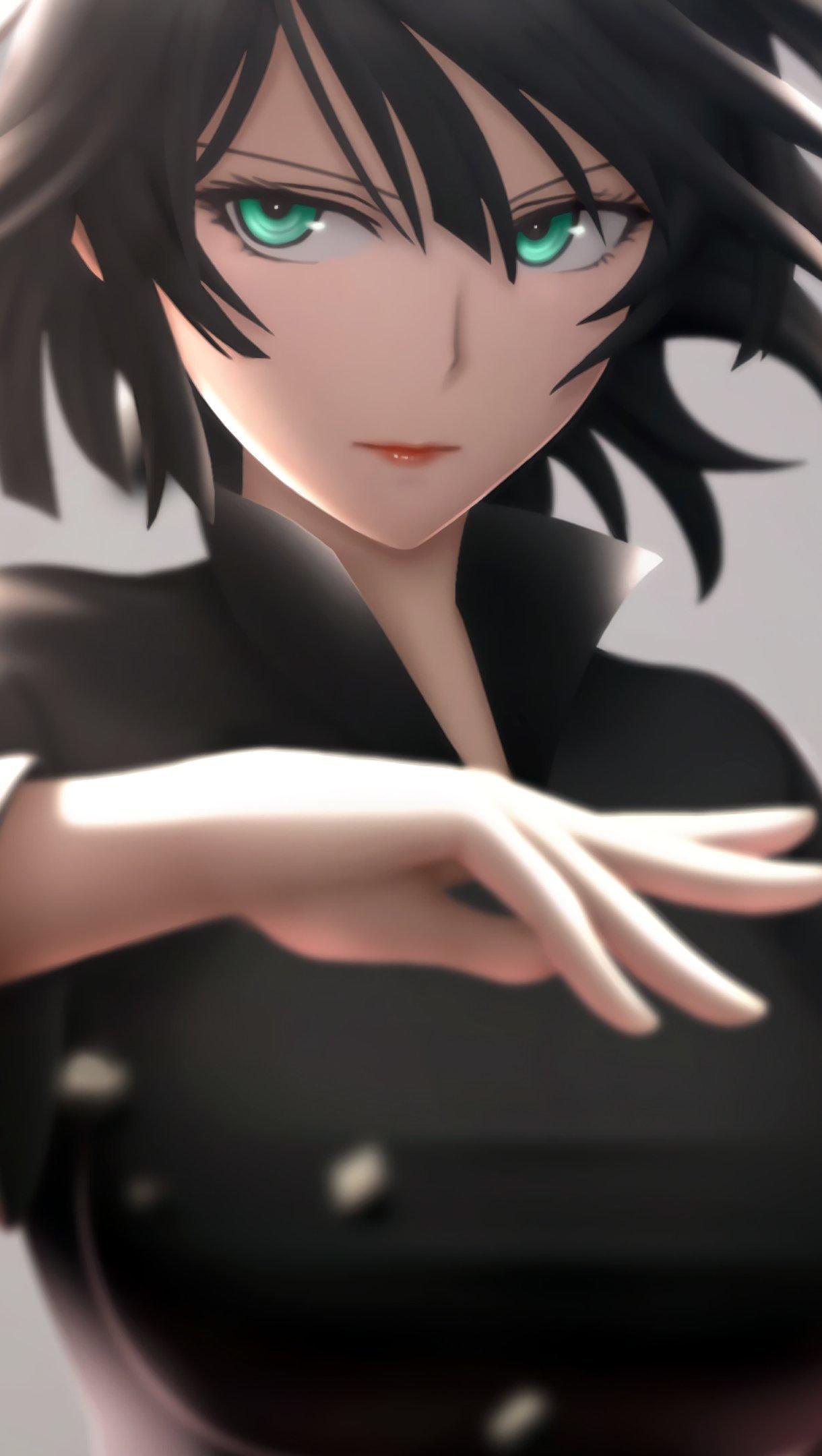 Anime Wallpaper Fubuki One Punch Man Vertical