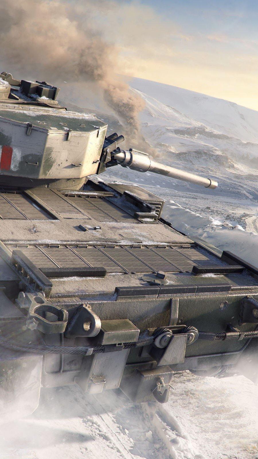 Wallpaper FV4202 World of Tanks Vertical
