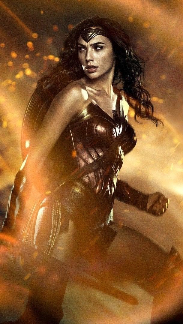 Wallpaper Gal Gadot as The Wonder Woman Vertical