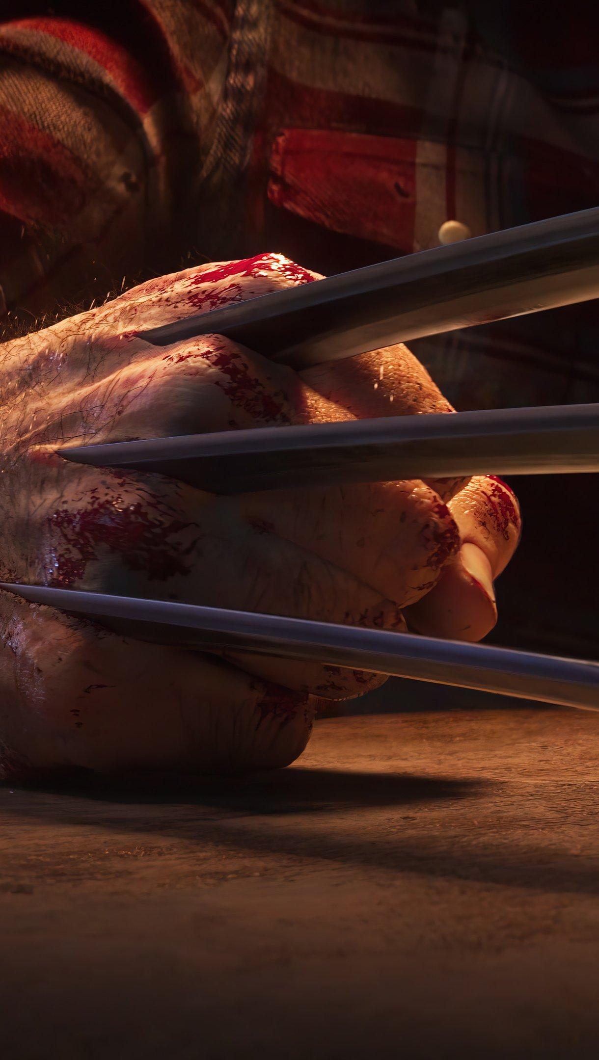 Fondos de pantalla Garra de Wolverine Vertical