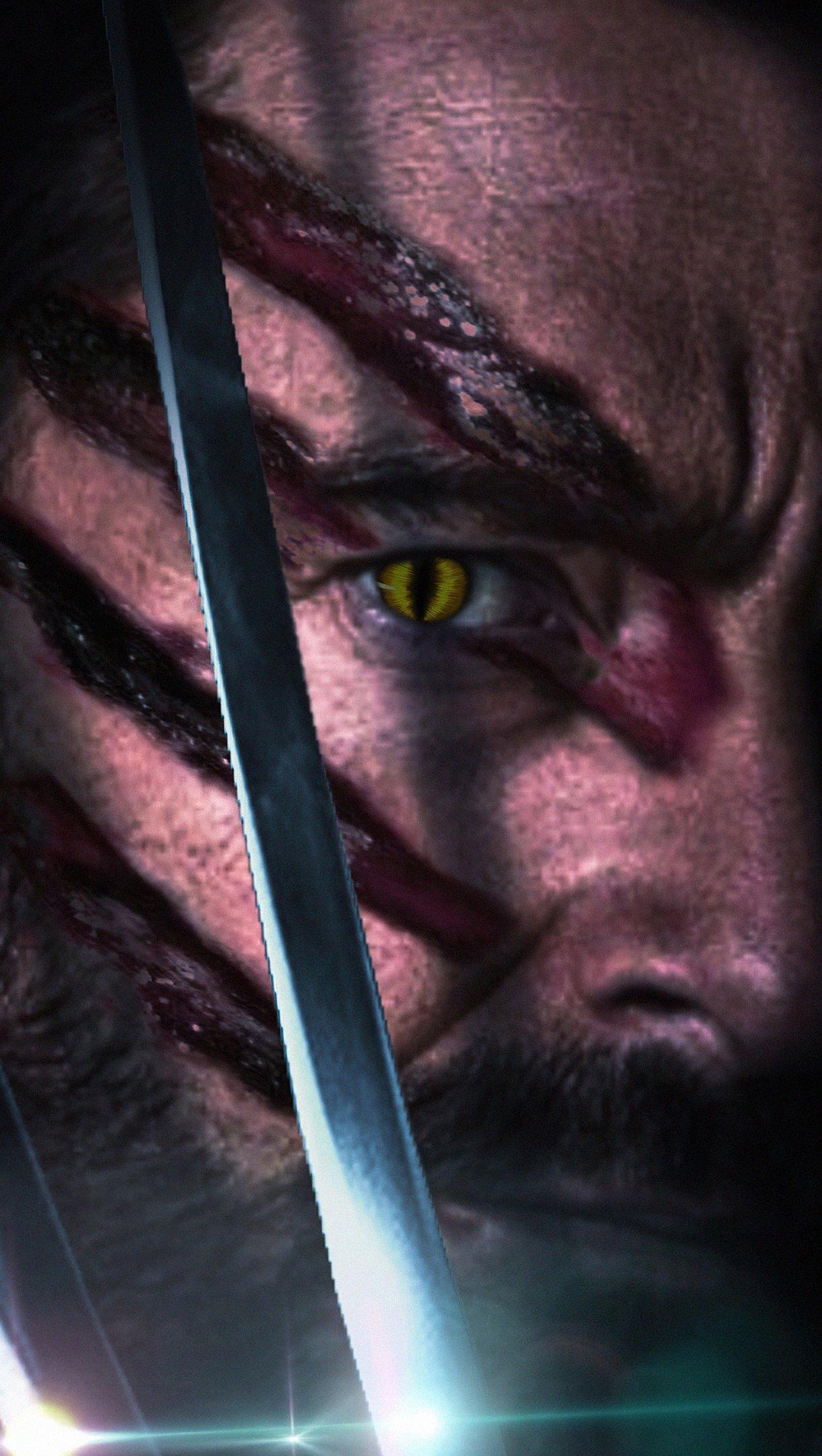 Fondos de pantalla Garras de Wolverine Vertical
