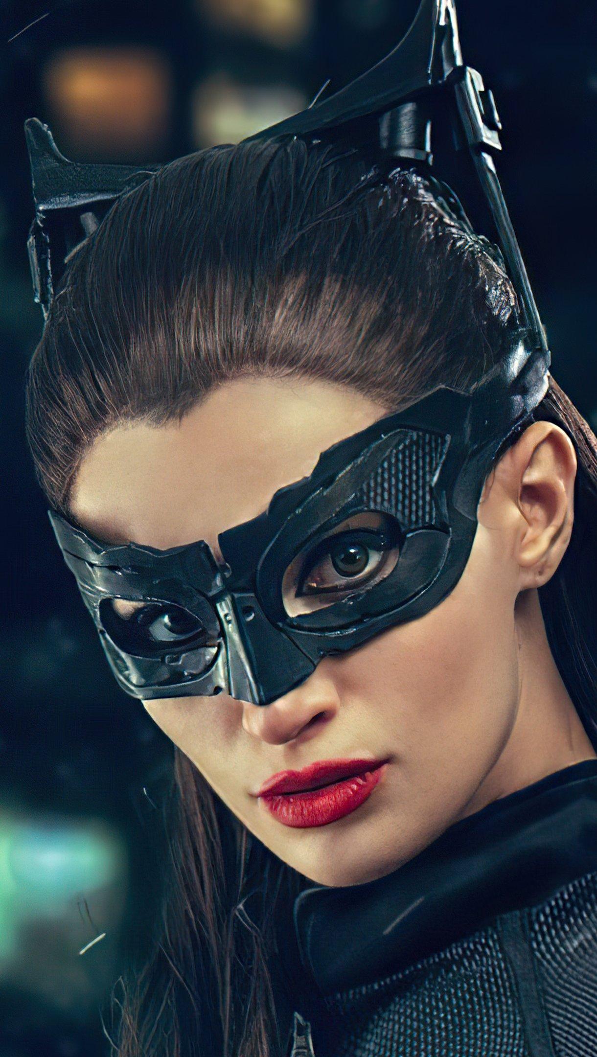 Wallpaper Catwoman Cosplay Vertical