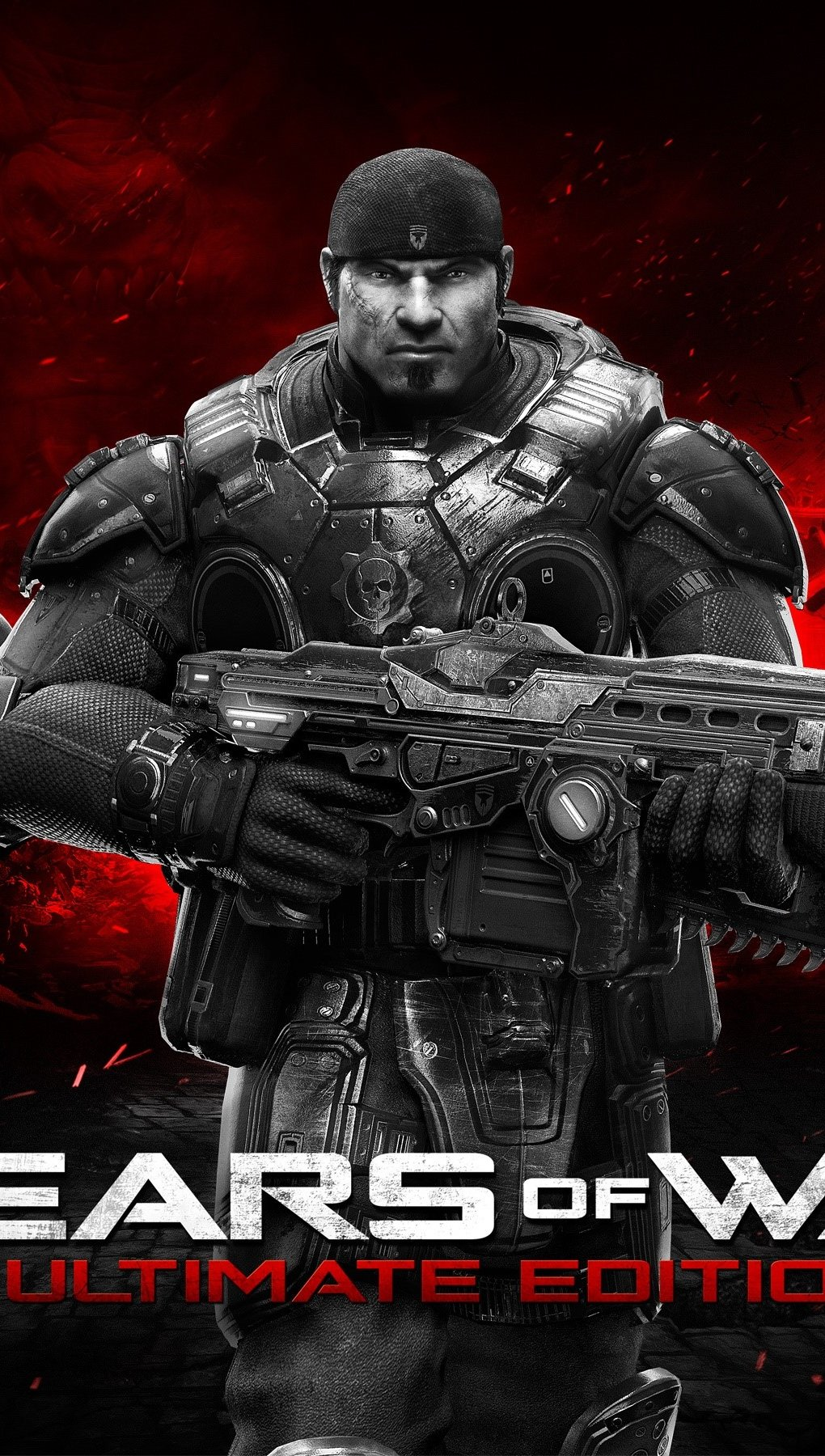 Wallpaper Gears Of War Ultimate Edition Vertical