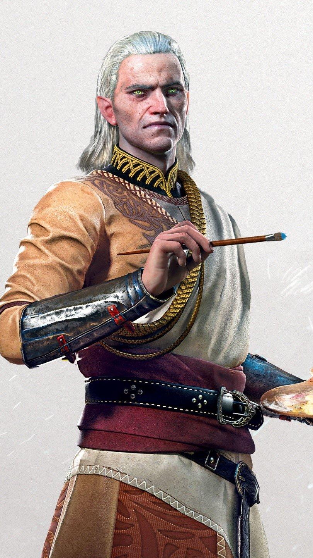Wallpaper Geels of The Witcher 3 Wild Hunt Vertical