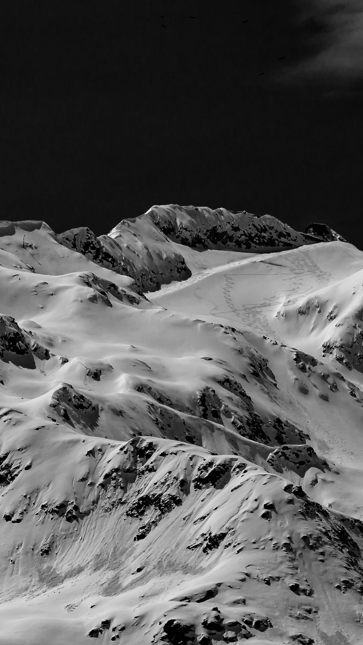 Wallpaper Gemsstock Switzerland Vertical