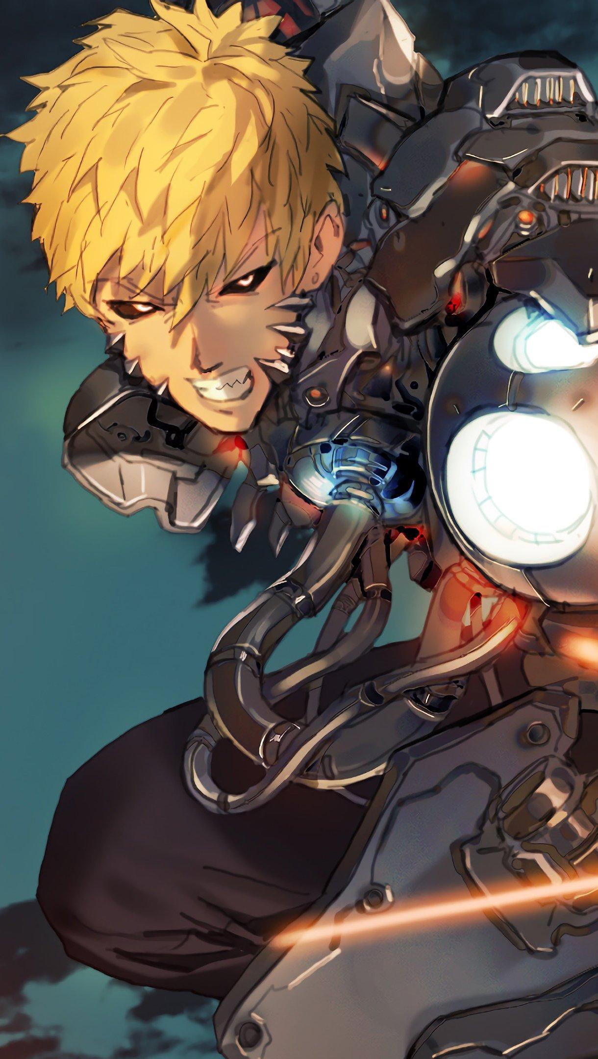 Fondos de pantalla Anime Genos One Punch Man Vertical