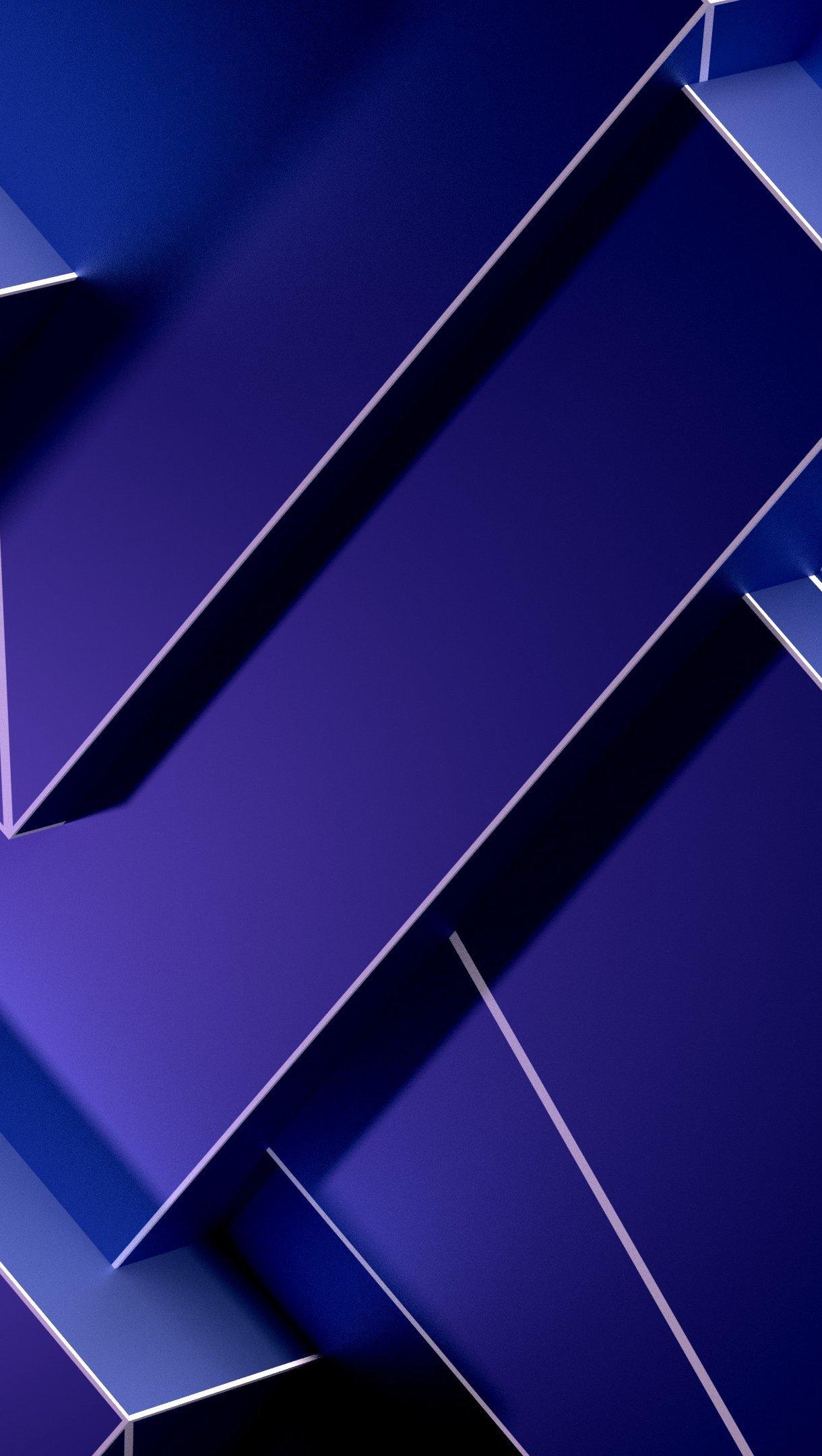 Fondos de pantalla Geometría 3D Vertical