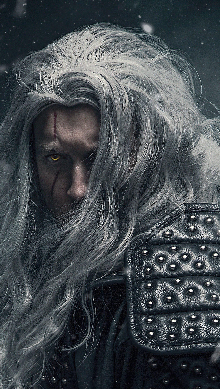 Fondos de pantalla Geralt de Rivia Witcher Cosplay Vertical