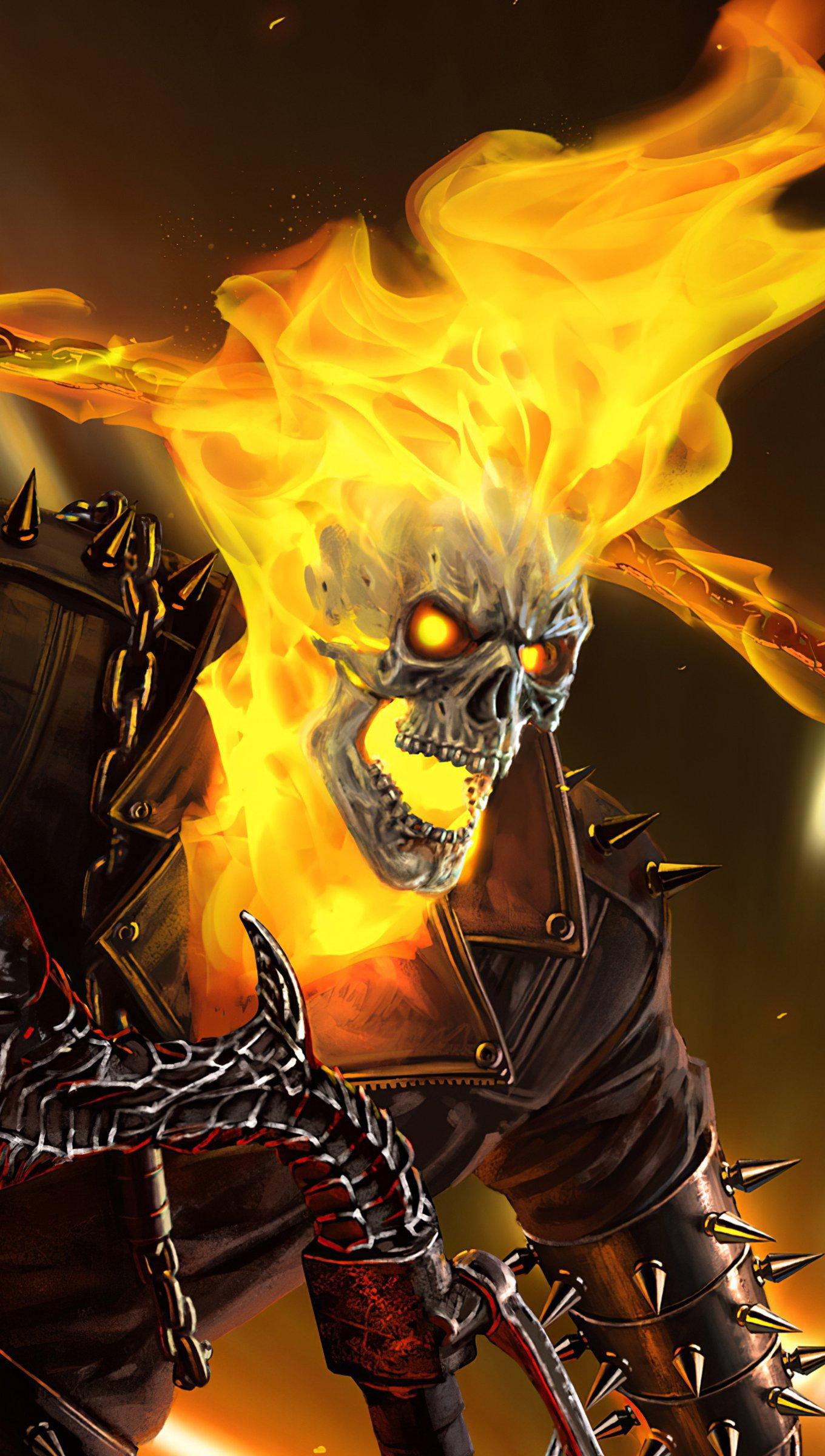Fondos de pantalla Ghost Rider Vertical
