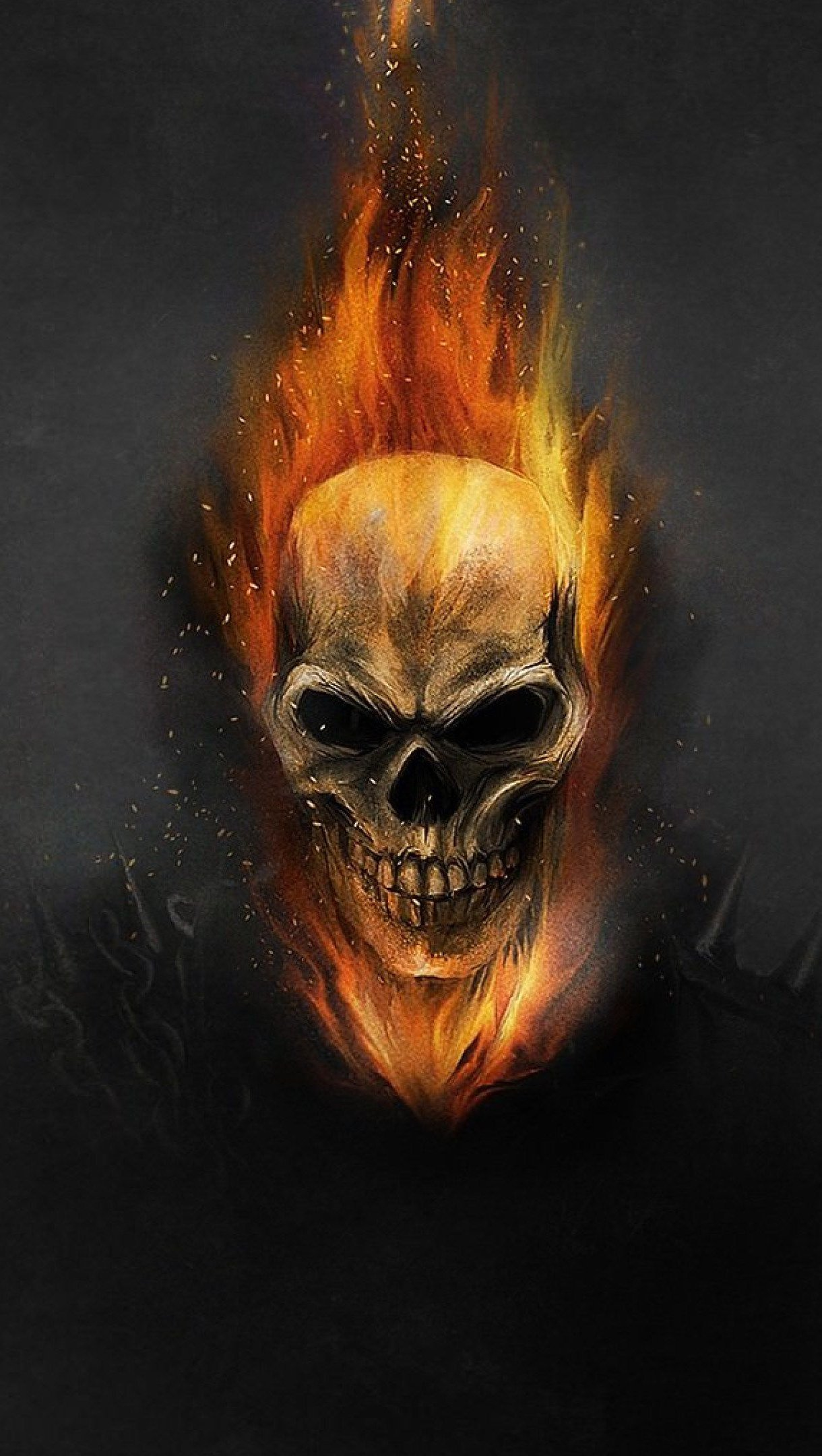 Fondos de pantalla Ghost Rider Fanart Vertical