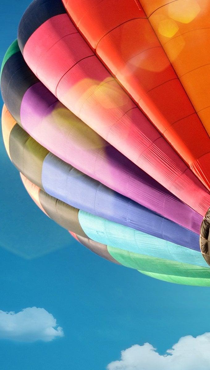 Wallpaper Hot air balloon Vertical