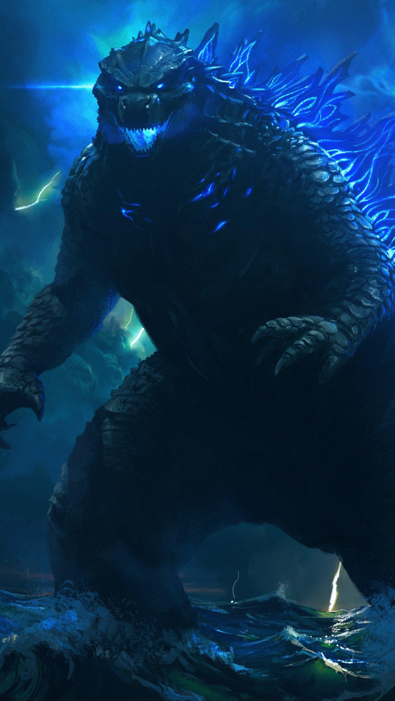 Wallpaper Godzilla 2021 Vertical